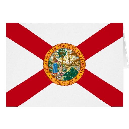 Bandera de la Florida Tarjeta Pequeña