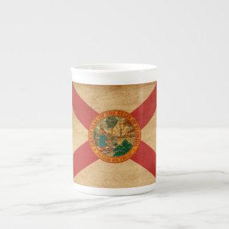 Bandera de la Florida Taza De Porcelana