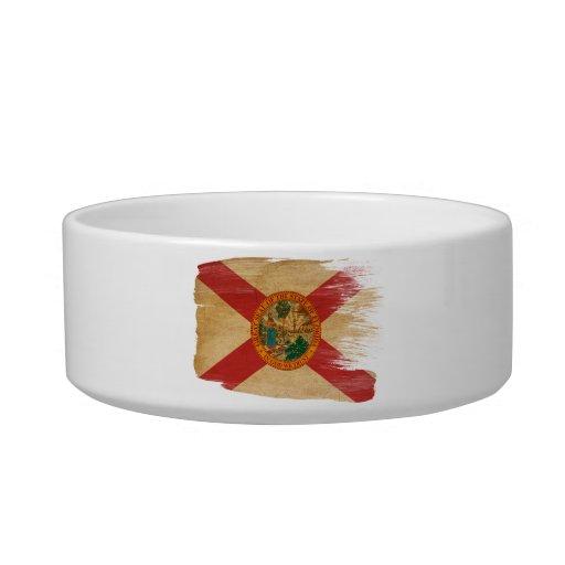 Bandera de la Florida Tazon Para Gato