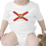 Bandera de la Florida Trajes De Bebé