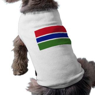 Bandera de la Gambia Ropa De Mascota