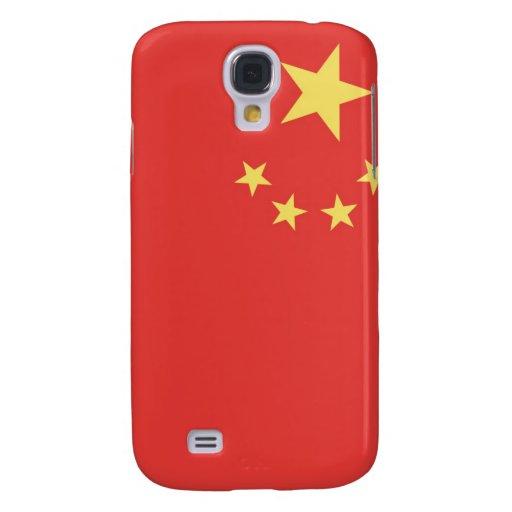 Bandera de la gente la República de China Funda Para Galaxy S4