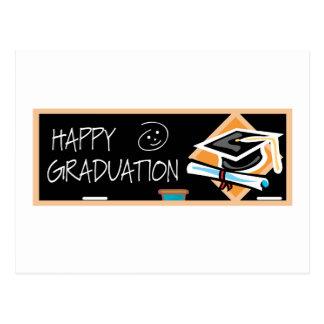 Bandera de la graduación postales