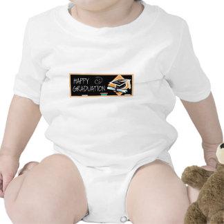 Bandera de la graduación traje de bebé