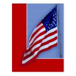 Bandera de la guerra civil tarjetas postales