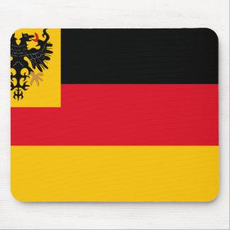 Bandera de la guerra la marina de guerra alemana alfombrillas de ratones