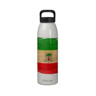 Bandera de la Guinea Ecuatorial Botellas De Agua Reutilizables