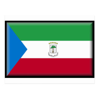 Bandera de la Guinea Ecuatorial Postal