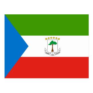 Bandera de la Guinea Ecuatorial Postales