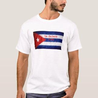 Bandera de La Habana Cuba Playera