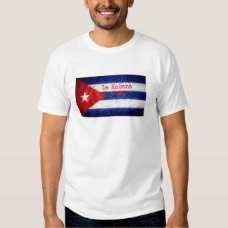 Bandera de La Habana Cuba Poleras