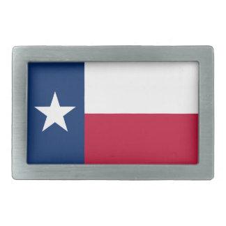 Bandera de la hebilla del cinturón de Tejas Hebillas De Cinturon Rectangulares