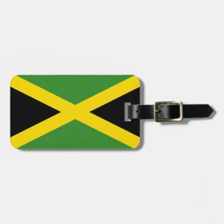 Bandera de la identificación fácil de Jamaica pers Etiqueta Para Maleta