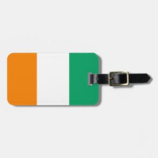 Bandera de la identificación fácil del d'Ivoire de Etiquetas Bolsas