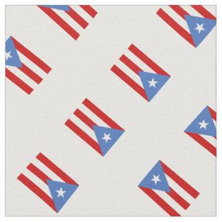 Bandera de la impresión de Puerto Rico Telas