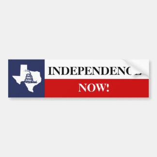 Bandera de la independencia de Tejas con la serpie Pegatina Para Auto