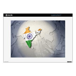 Bandera de la India 38,1cm Portátil Calcomanía