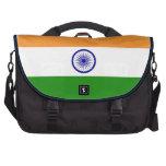 Bandera de la India. Bharat Ganrajya Bolsas Para Portátil