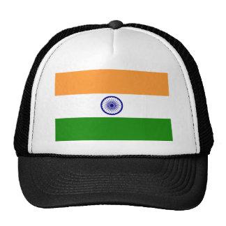 Bandera de la India. Bharat Ganrajya Gorra