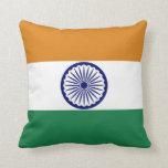 Bandera de la India Cojines