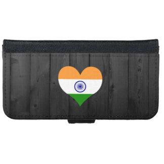 Bandera de la India coloreada Carcasa De iPhone 6