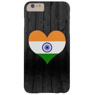 Bandera de la India coloreada Funda De iPhone 6 Plus Barely There