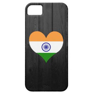 Bandera de la India coloreada Funda Para iPhone 5 Barely There