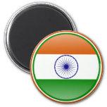 Bandera de la India Imanes De Nevera