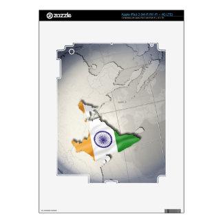 Bandera de la India Pegatina Skin Para iPad 3