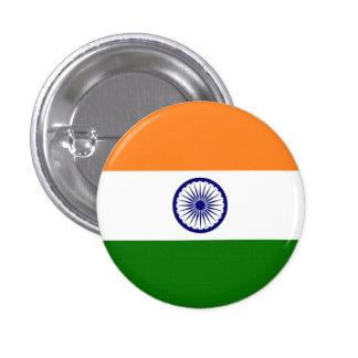 Bandera de la India Pin Redondo De 1 Pulgada