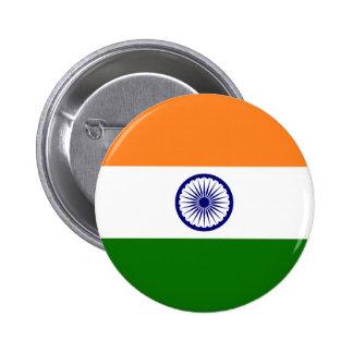 Bandera de la India Pin Redondo De 2 Pulgadas