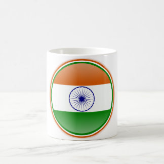 Bandera de la India Taza Clásica