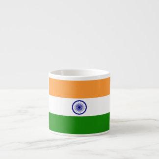 Bandera de la India Taza Espresso