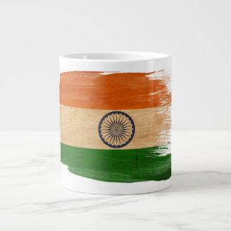 Bandera de la India Taza Grande