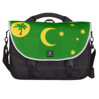 Bandera de la isla de Cocos Bolsas Para Portátil