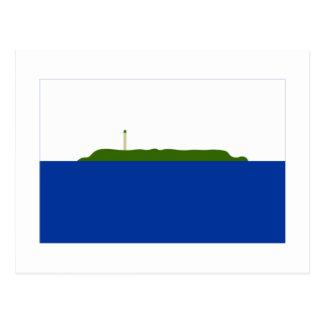 Bandera de la isla de Navassa Postales