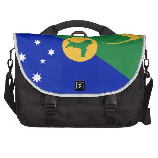 Bandera de la Isla de Navidad (Australia) Bolsas De Portátil