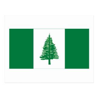 Bandera de la isla de Norfolk Tarjetas Postales