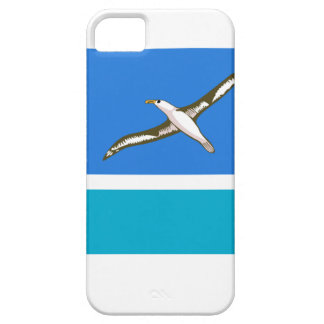 Bandera de la isla intermediaria funda para iPhone 5 barely there