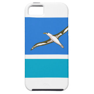 Bandera de la isla intermediaria iPhone 5 funda