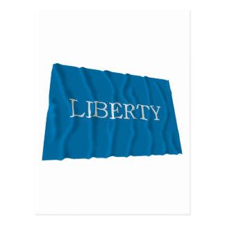 Bandera de la libertad de Schenectady Postales