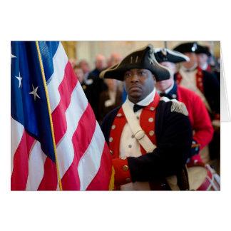 Bandera de la libertad felicitaciones