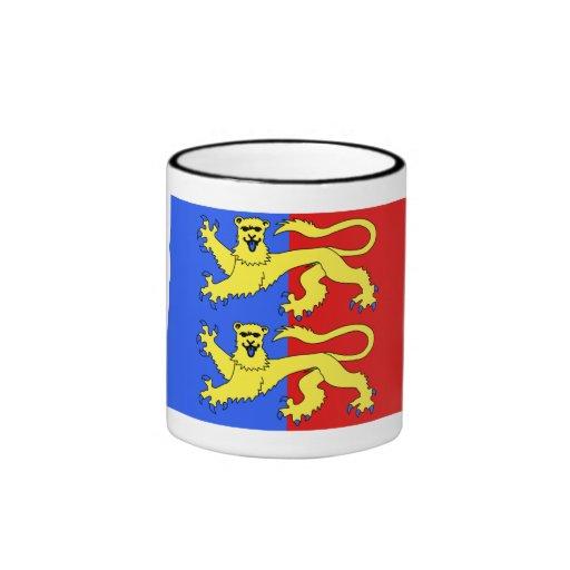 Bandera de la Mancha Taza De Café