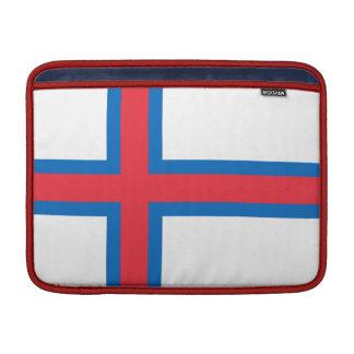 Bandera de la manga de Faroe Island MacBook Funda MacBook