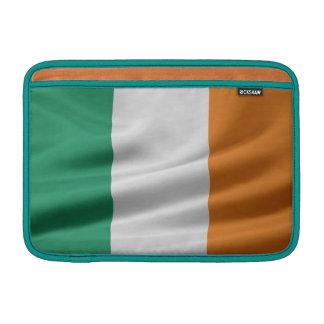 Bandera de la manga del libro de Irlanda 11inch Ma Fundas MacBook