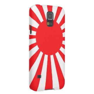 Bandera de la marina de guerra de Japón Fundas Para Galaxy S5