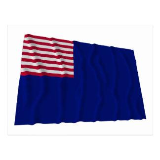 Bandera de la marina de guerra de Pennsylvania Tarjetas Postales
