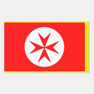 Bandera de la marina de guerra Toscana Medici Rectangular Altavoces