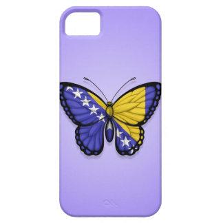 Bandera de la mariposa de Bosnia y Hercegovina en iPhone 5 Funda