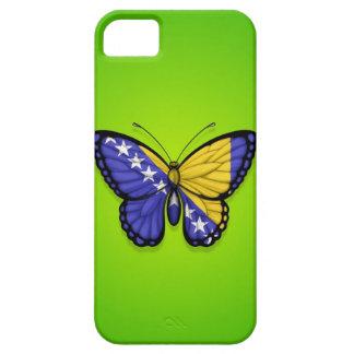 Bandera de la mariposa de Bosnia y Hercegovina en iPhone 5 Carcasa